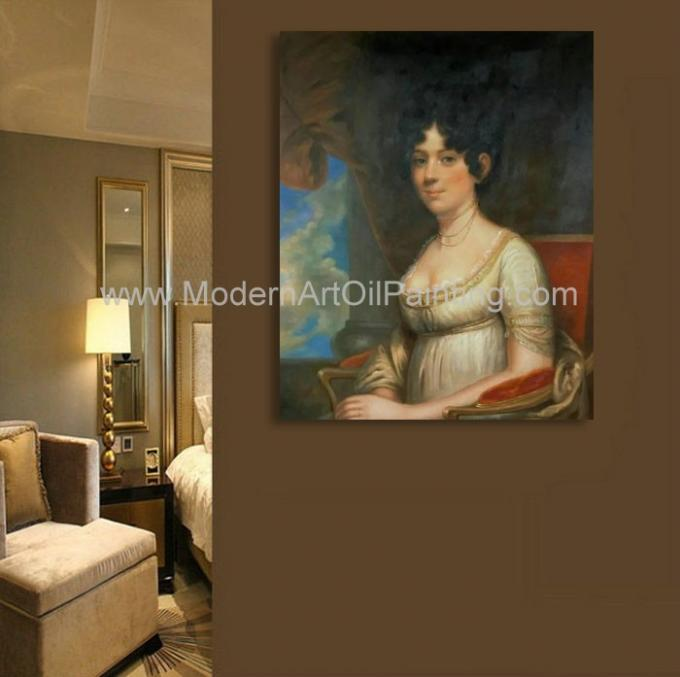 Noblewoman Oil Painting Reproduction Classic Portrait art Hand Painted on canvas