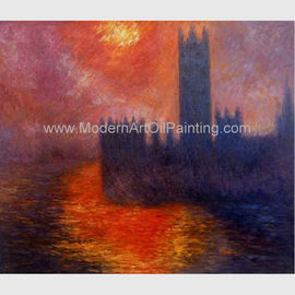Old Master Claude Monet Oil Paintings Houses of Parliament painting Hand Painted
